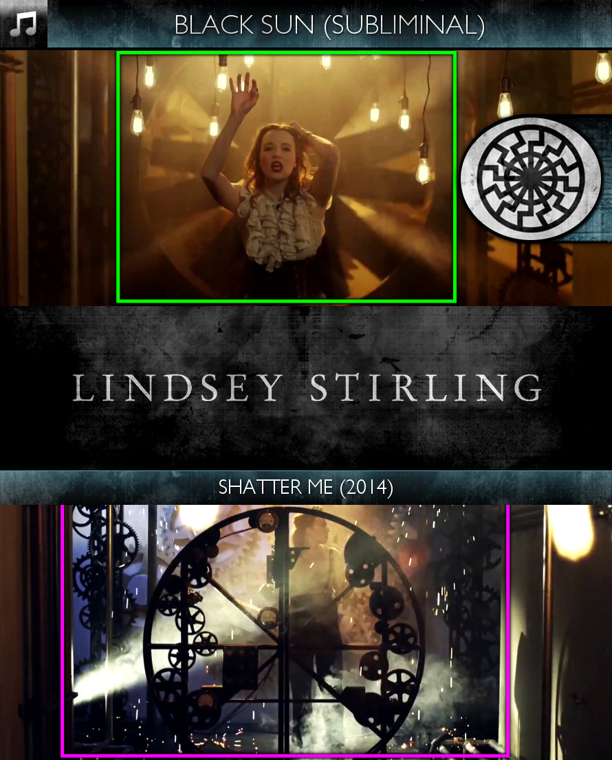 Lindsey Stirling - Shatter Me (2014) - Black Sun - Subliminal