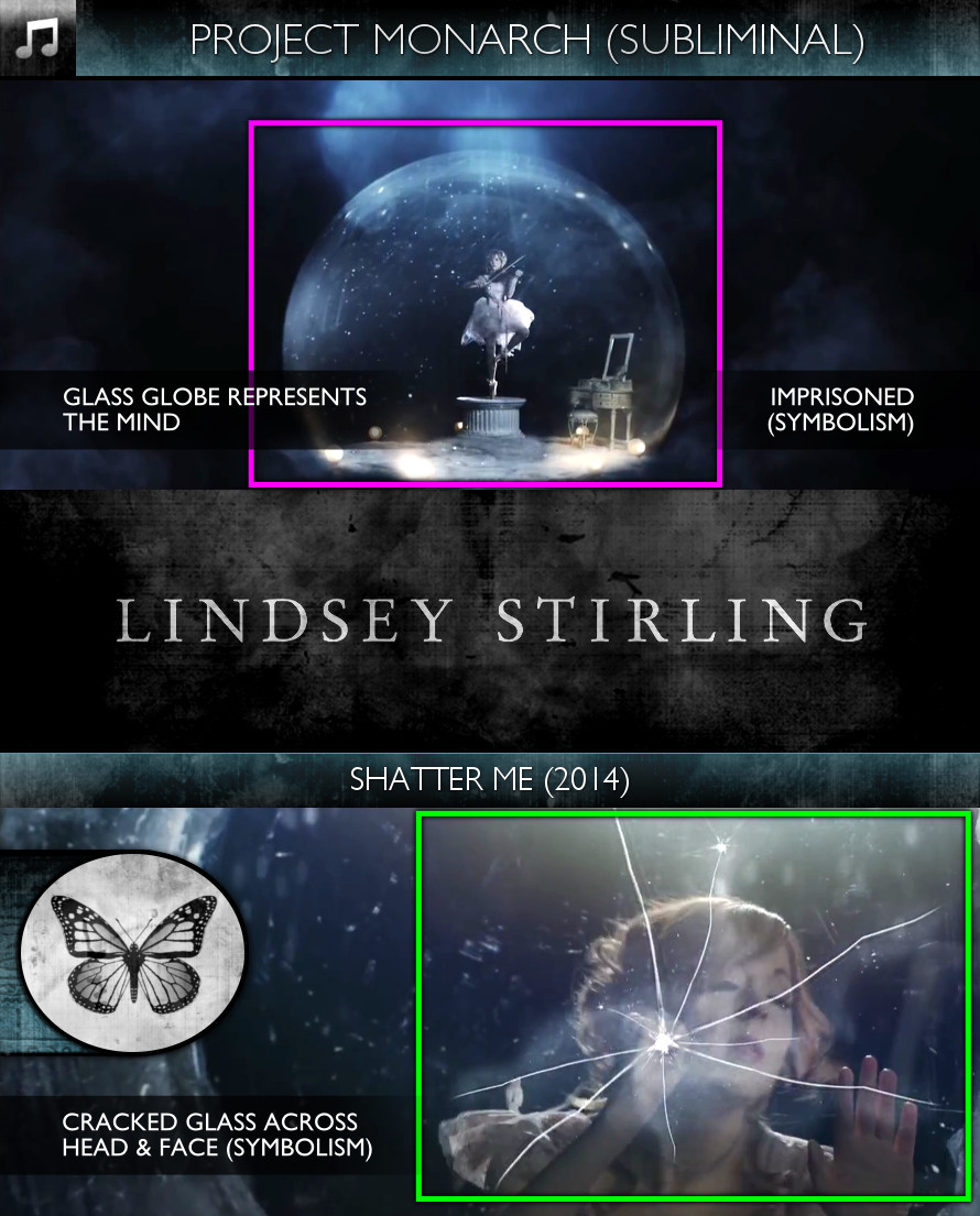 Lindsey Stirling - Shatter Me (2014) - Project Monarch - Subliminal