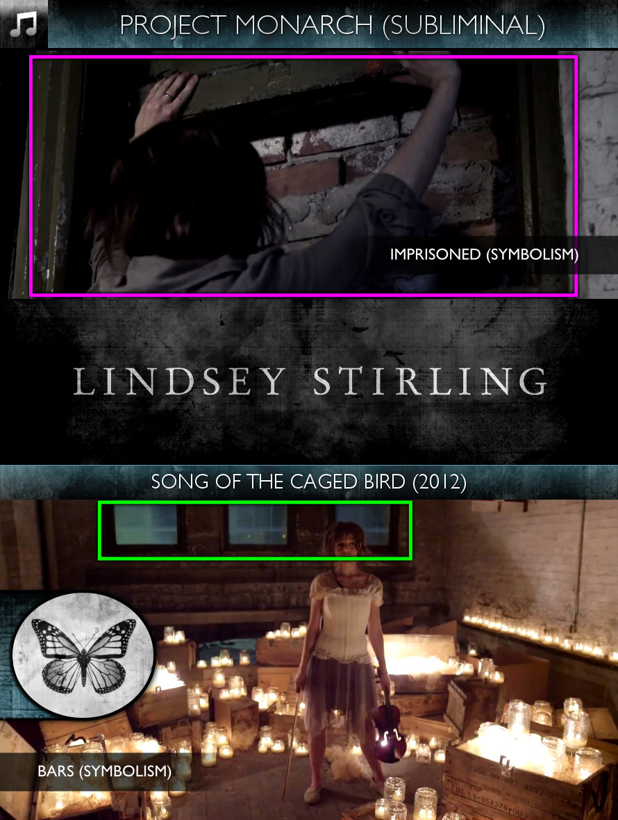 Lindsey Stirling - Song of the Caged Bird (2012) - Project Monarch - Subliminal