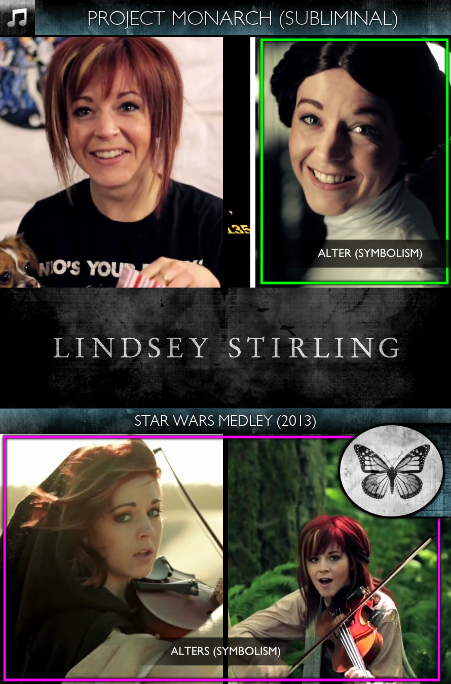 Lindsey Stirling - Star Wars Medley (2013) - Project Monarch - Subliminal