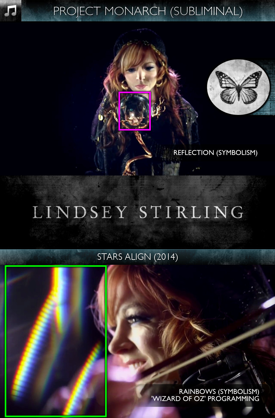 Lindsey Stirling - Stars Align (2014) - Project Monarch - Subliminal