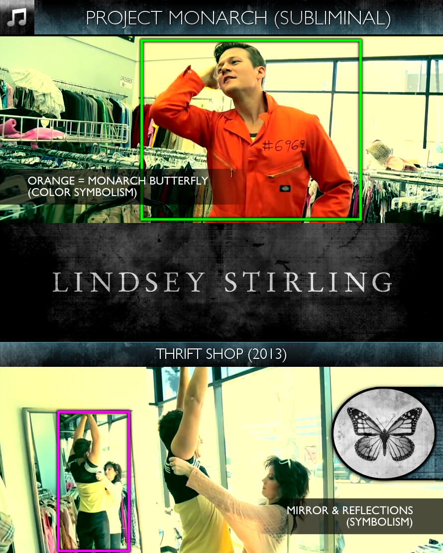 Lindsey Stirling - Thrift Shop (2013) - Project Monarch - Subliminal