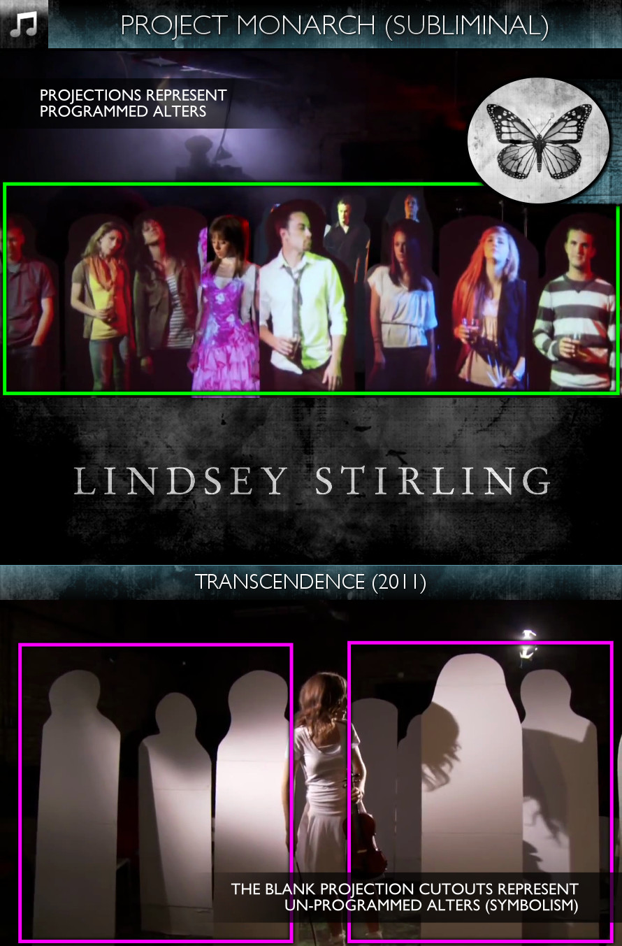 Lindsey Stirling - Transcendence (2011) - Project Monarch - Subliminal