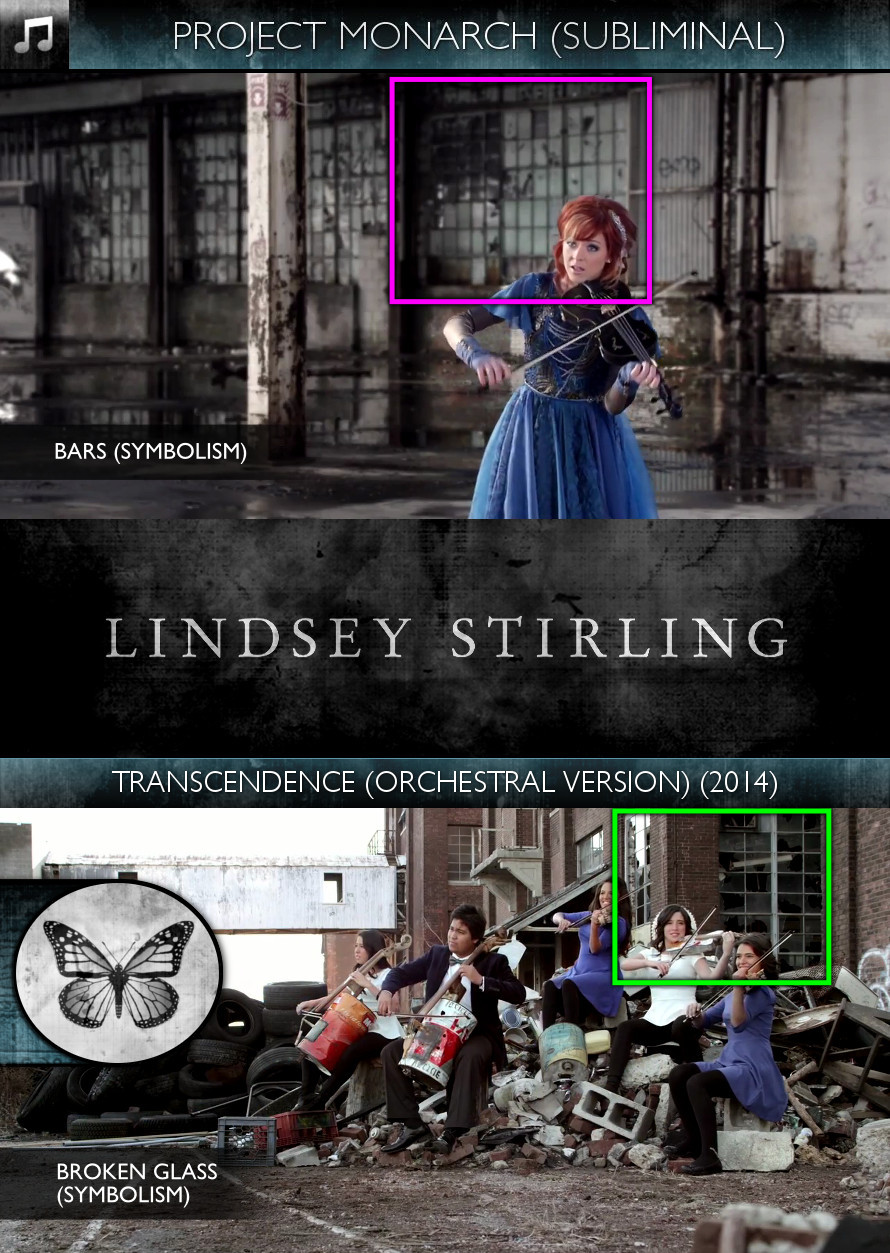 Lindsey Stirling - Transcendence (Orchestral Version) (2014) - Project Monarch - Subliminal