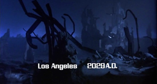 Reptilian Takeover (Future War - Los Angeles 2029) - The Terminator (1984)