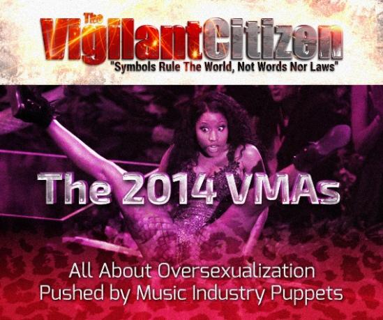 VMA 2014-Oversexualization