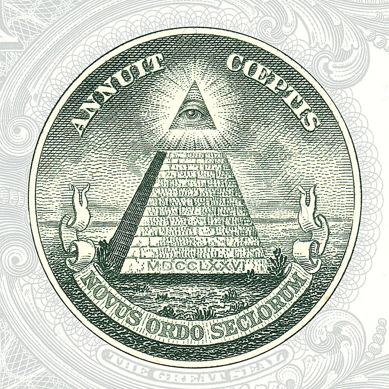 The Eye of Providence-US 1 Dollar Bill