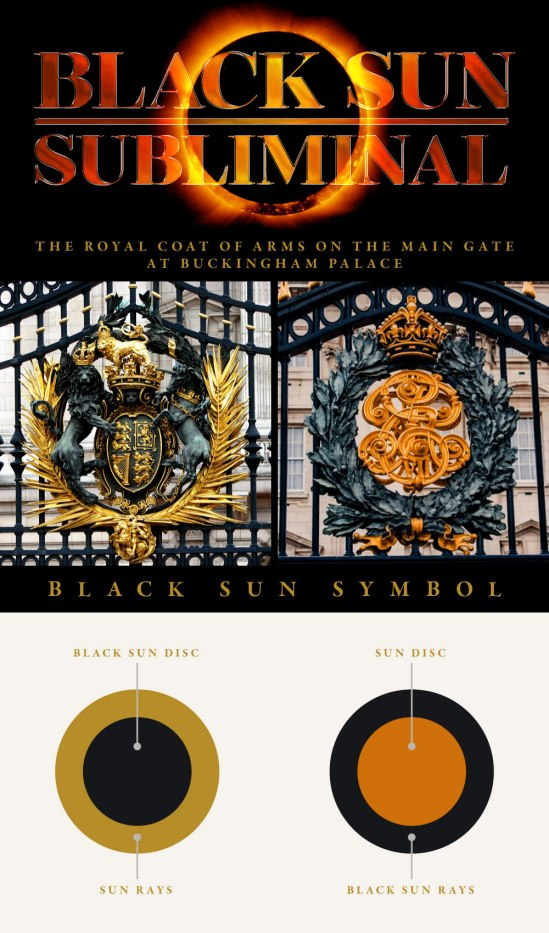 dark MonarKy - Buckingham Palace - Black Sun Subliminal