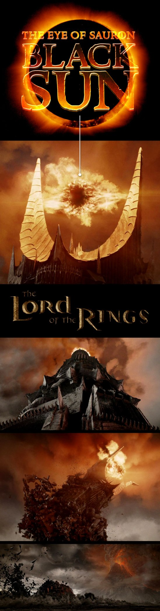 dark MonarKy - The Lord of the Rings - The Eye of Sauron - Black Sun Subliminal