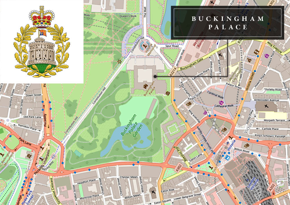 dark-MonarKy - Buckingham Palace - Street Map